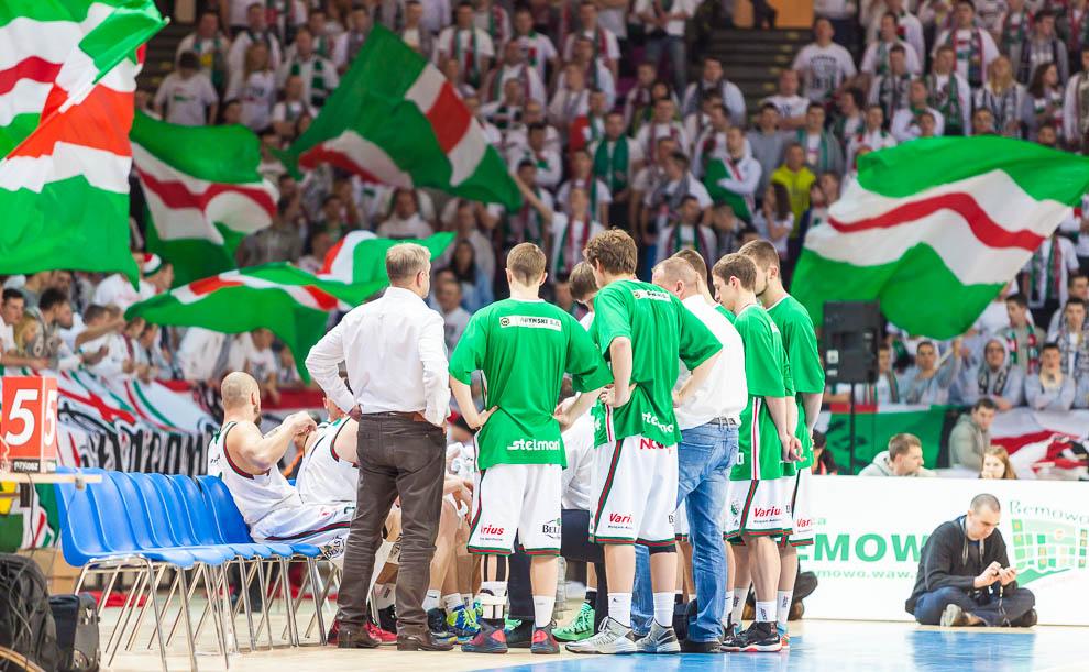Legia Warszawa 69-58 Polonia Warszawa - fot. Piotr Galas (zdjęcie 10 z 77)