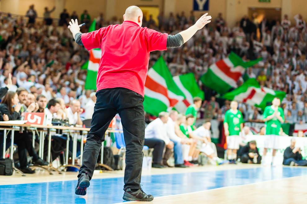 Legia Warszawa 69-58 Polonia Warszawa - fot. Piotr Galas (zdjęcie 15 z 77)