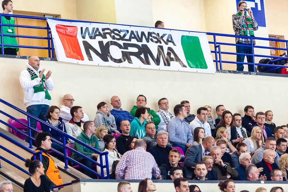 Legia Warszawa 69-58 Polonia Warszawa - fot. Piotr Galas (zdjęcie 18 z 77)