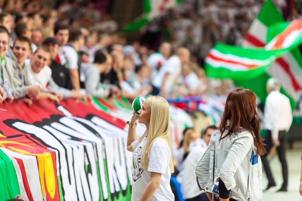 Legia Warszawa 69-58 Polonia Warszawa - fot. Piotr Galas (zdjęcie 28 z 77)