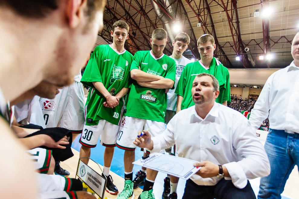 Legia Warszawa 69-58 Polonia Warszawa - fot. Piotr Galas (zdjęcie 35 z 77)