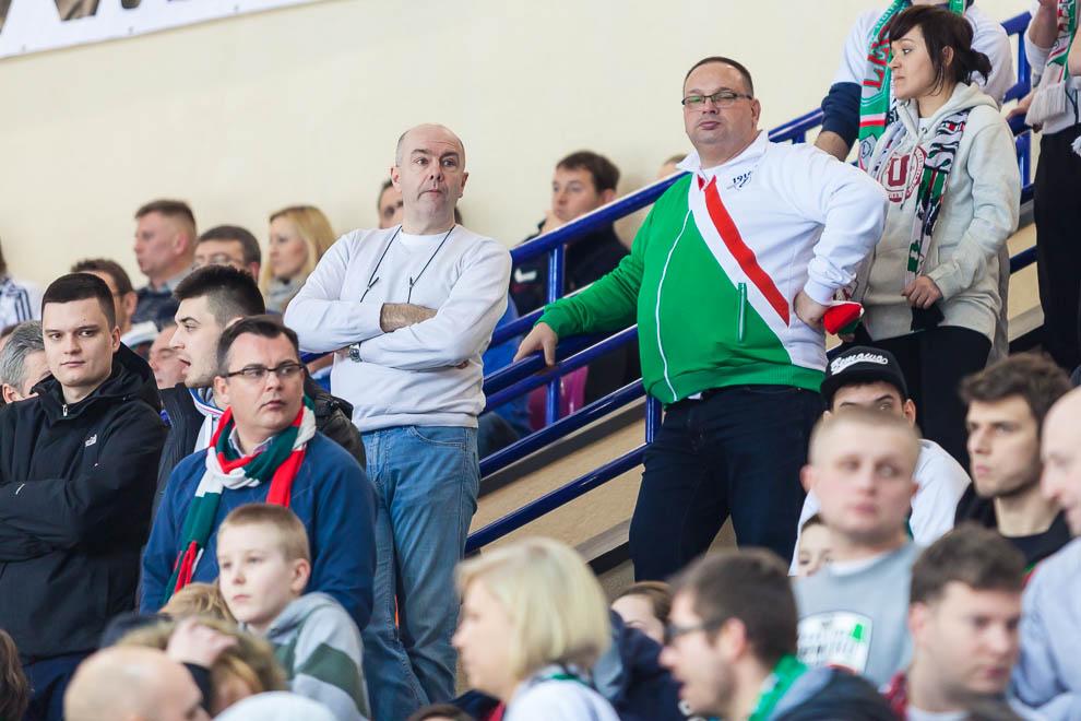 Legia Warszawa 69-58 Polonia Warszawa - fot. Piotr Galas (zdjęcie 40 z 77)
