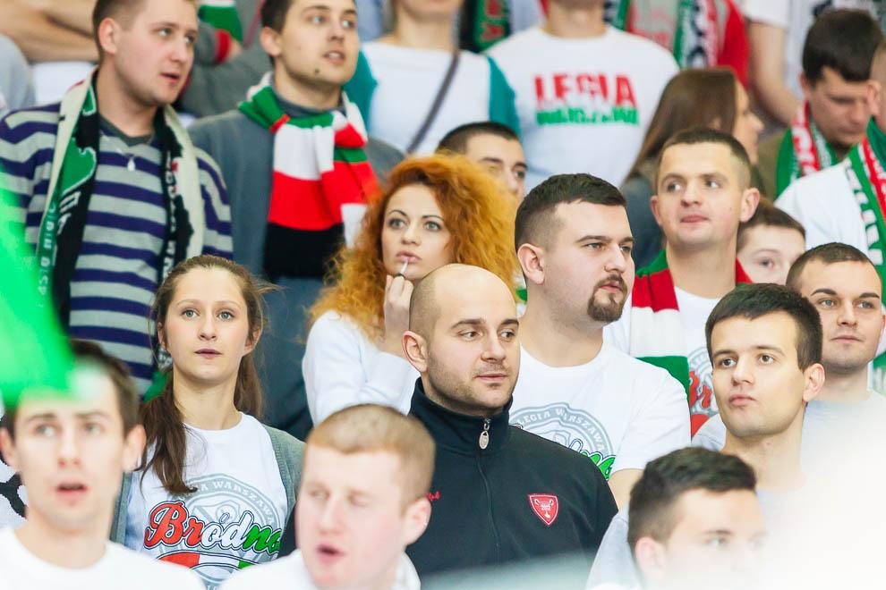 Legia Warszawa 69-58 Polonia Warszawa - fot. Piotr Galas (zdjęcie 42 z 77)