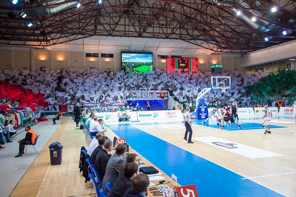 Legia Warszawa 69-58 Polonia Warszawa - fot. Piotr Galas (zdjęcie 5 z 77)