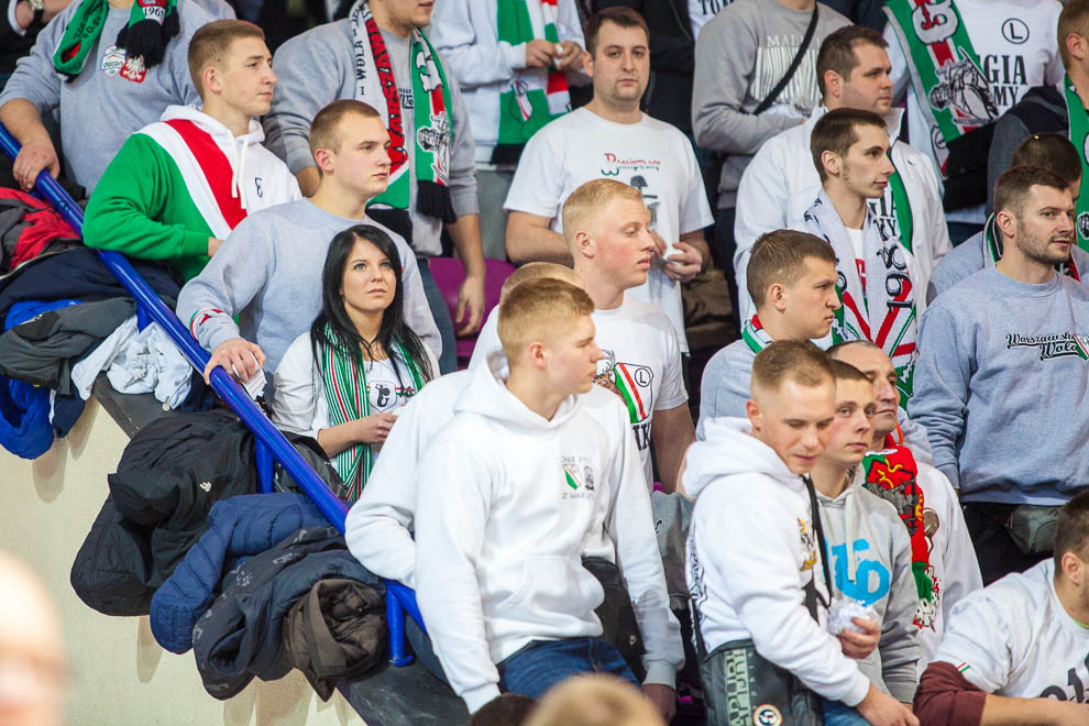Legia Warszawa 69-58 Polonia Warszawa - fot. Piotr Galas (zdjęcie 55 z 77)