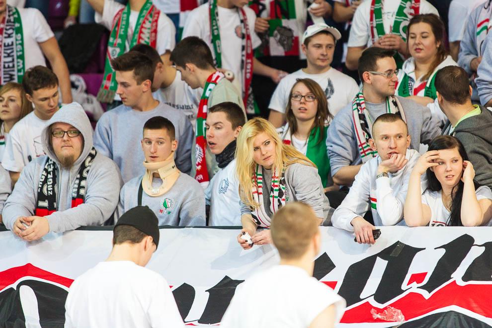 Legia Warszawa 69-58 Polonia Warszawa - fot. Piotr Galas (zdjęcie 56 z 77)
