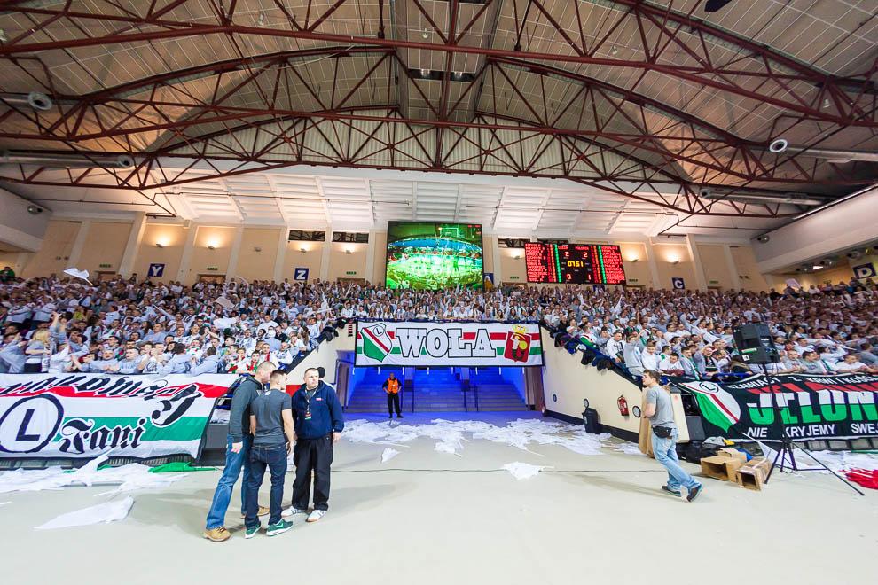 Legia Warszawa 69-58 Polonia Warszawa - fot. Piotr Galas (zdjęcie 7 z 77)