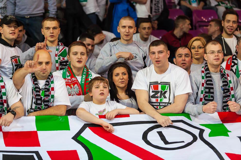 Legia Warszawa 69-58 Polonia Warszawa - fot. Piotr Galas (zdjęcie 9 z 77)