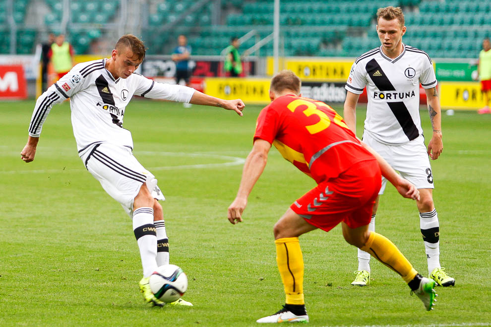 Legia Warszawa 1-2 Korona Kielce - fot. Piotr Galas/wiadomosci24.pl (zdjęcie 12 z 81)