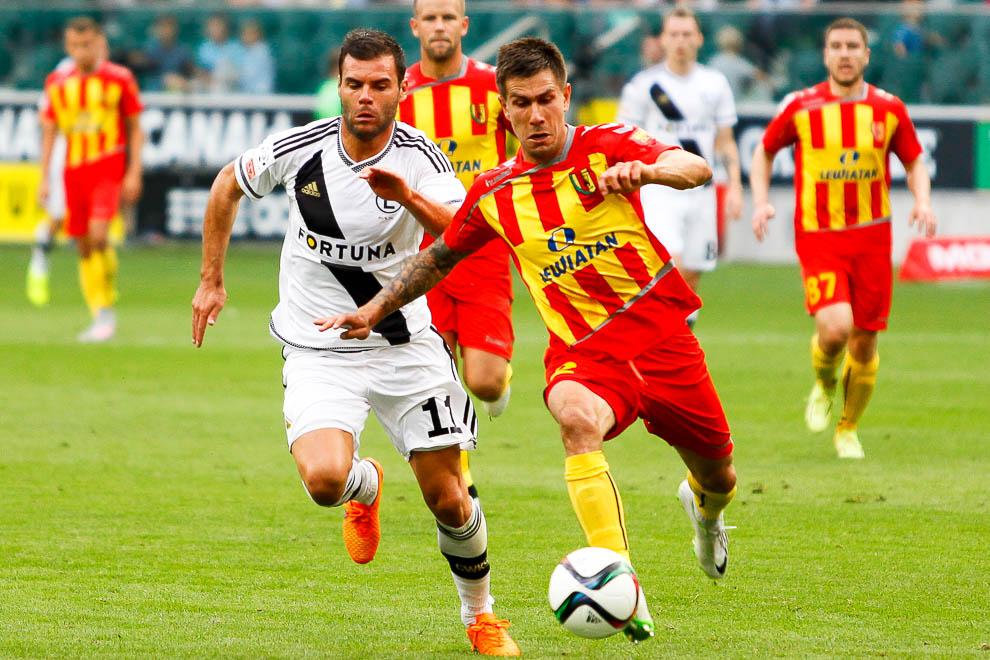 Legia Warszawa 1-2 Korona Kielce - fot. Piotr Galas/wiadomosci24.pl (zdjęcie 13 z 81)