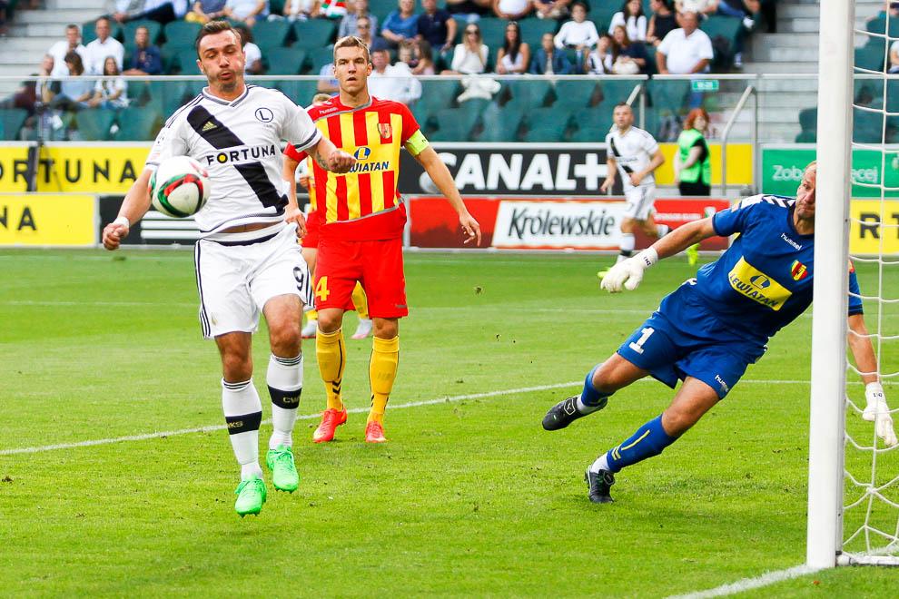 Legia Warszawa 1-2 Korona Kielce - fot. Piotr Galas/wiadomosci24.pl (zdjęcie 16 z 81)