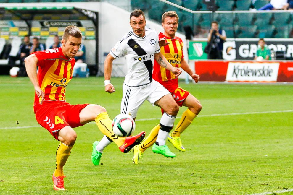 Legia Warszawa 1-2 Korona Kielce - fot. Piotr Galas/wiadomosci24.pl (zdjęcie 17 z 81)