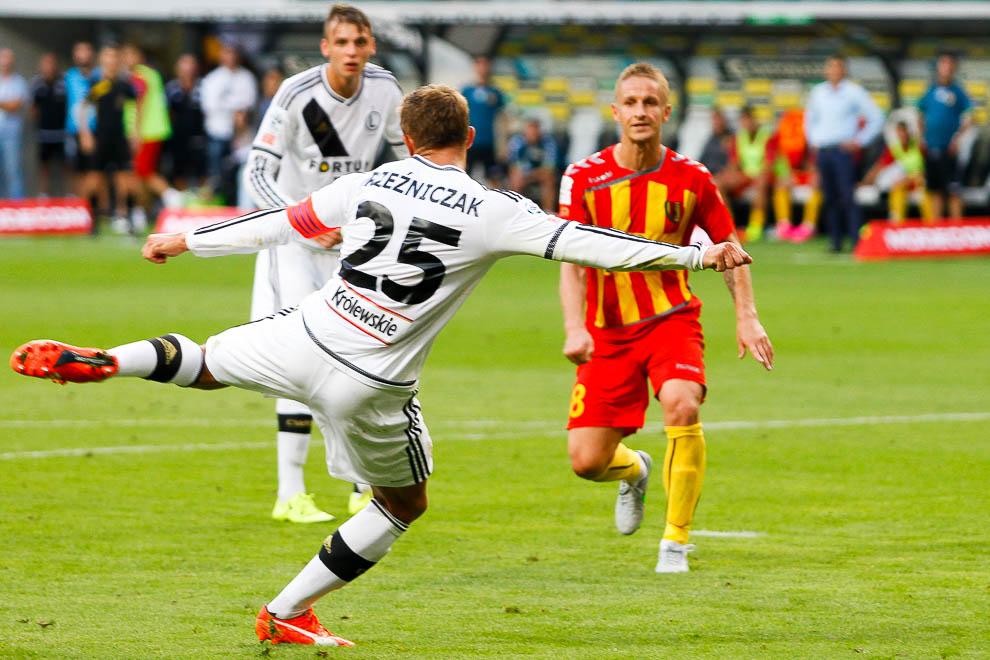 Legia Warszawa 1-2 Korona Kielce - fot. Piotr Galas/wiadomosci24.pl (zdjęcie 26 z 81)