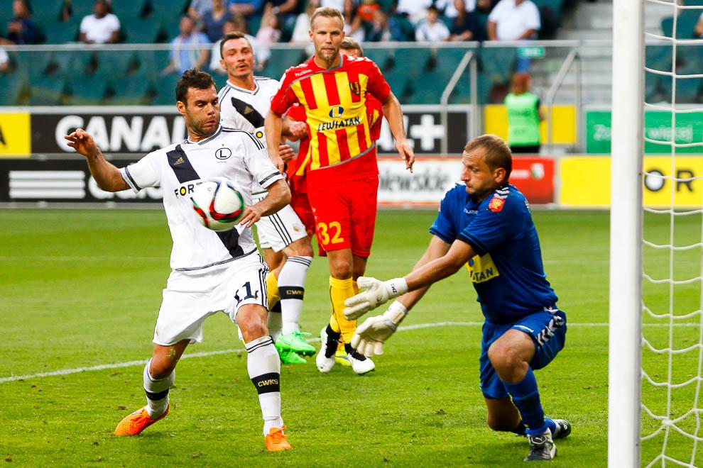 Legia Warszawa 1-2 Korona Kielce - fot. Piotr Galas/wiadomosci24.pl (zdjęcie 27 z 81)