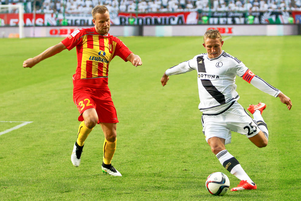 Legia Warszawa 1-2 Korona Kielce - fot. Piotr Galas/wiadomosci24.pl (zdjęcie 33 z 81)