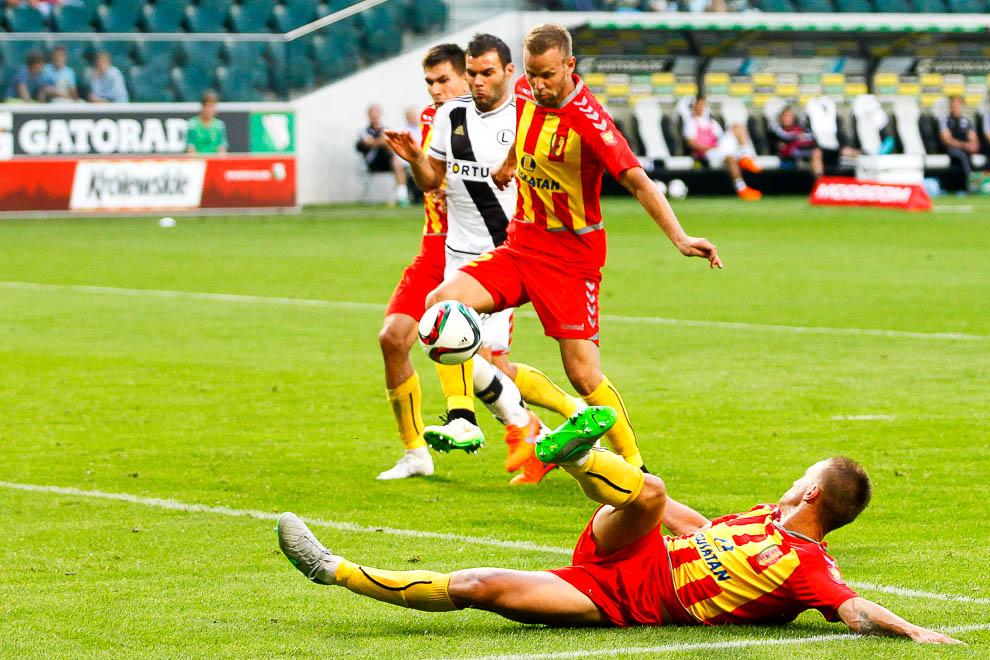 Legia Warszawa 1-2 Korona Kielce - fot. Piotr Galas/wiadomosci24.pl (zdjęcie 35 z 81)