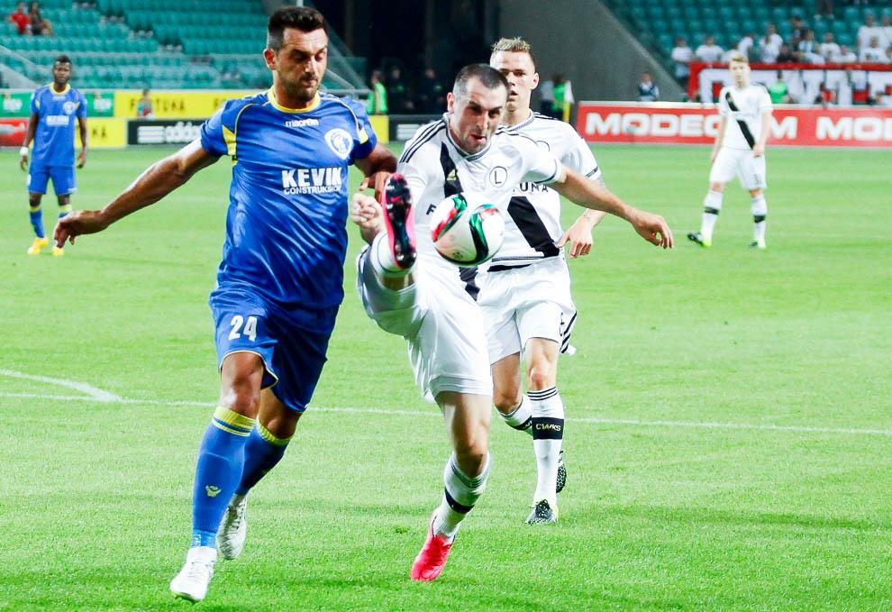 Legia Warszawa 1-0 FK Kukesi - fot. Piotr Galas/wiadomosci24.pl (zdjęcie 17 z 61)