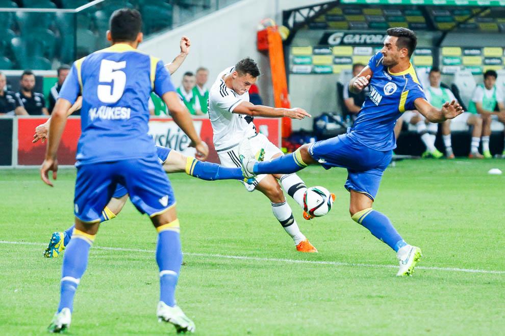 Legia Warszawa 1-0 FK Kukesi - fot. Piotr Galas/wiadomosci24.pl (zdjęcie 18 z 61)