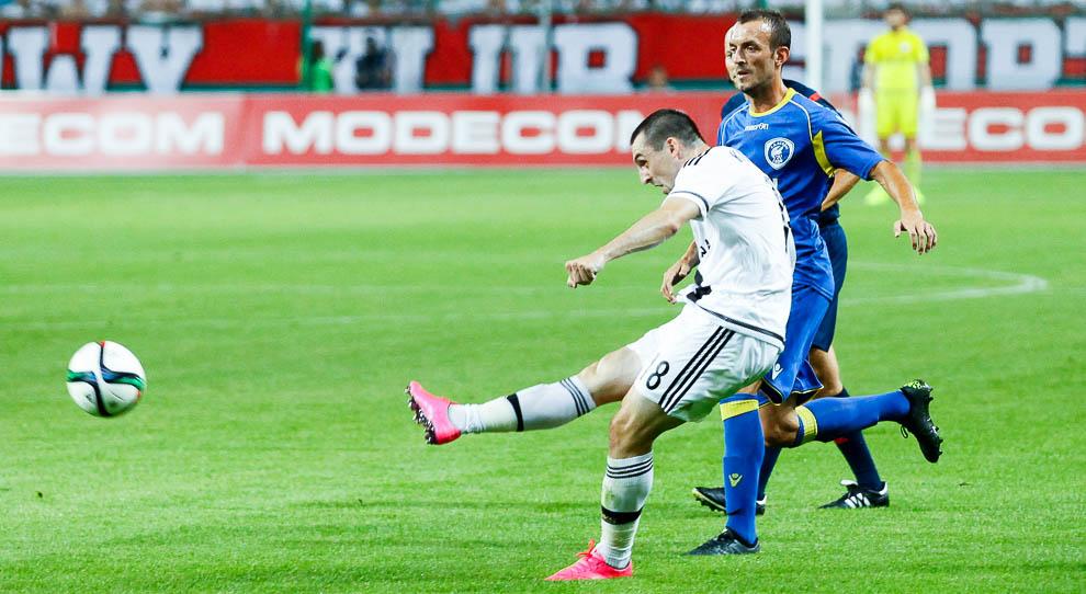 Legia Warszawa 1-0 FK Kukesi - fot. Piotr Galas/wiadomosci24.pl (zdjęcie 19 z 61)