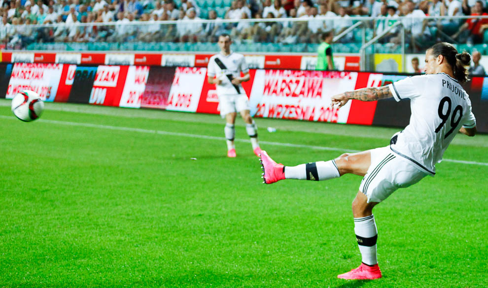 Legia Warszawa 1-0 FK Kukesi - fot. Piotr Galas/wiadomosci24.pl (zdjęcie 22 z 61)