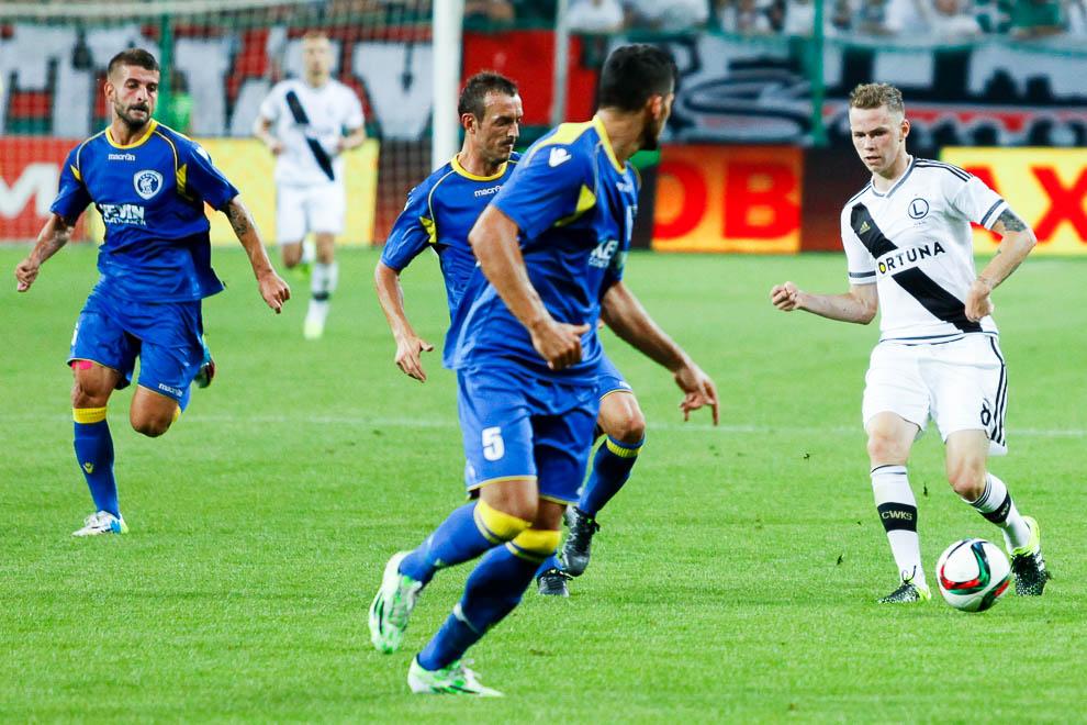 Legia Warszawa 1-0 FK Kukesi - fot. Piotr Galas/wiadomosci24.pl (zdjęcie 26 z 61)