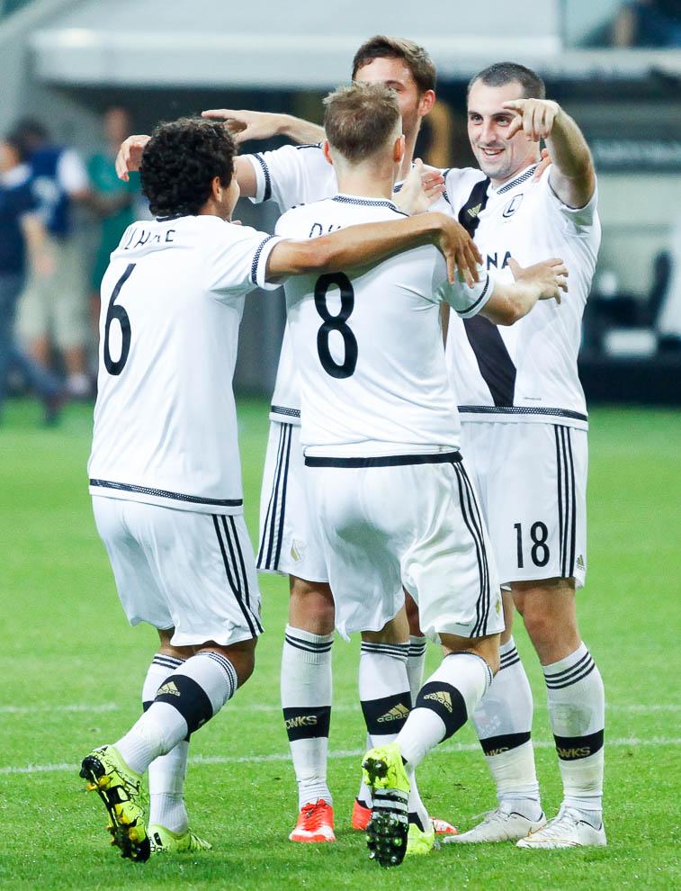 Legia Warszawa 1-0 FK Kukesi - fot. Piotr Galas/wiadomosci24.pl (zdjęcie 37 z 61)