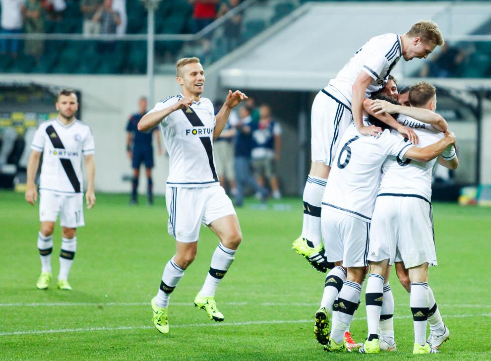Legia Warszawa 1-0 FK Kukesi - fot. Piotr Galas/wiadomosci24.pl (zdjęcie 38 z 61)