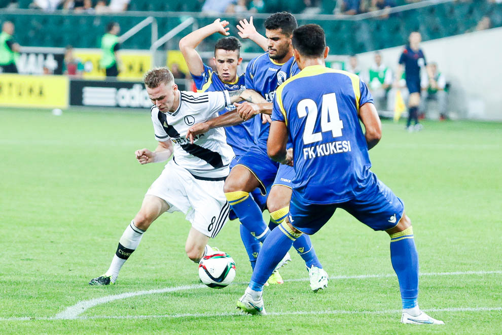 Legia Warszawa 1-0 FK Kukesi - fot. Piotr Galas/wiadomosci24.pl (zdjęcie 41 z 61)
