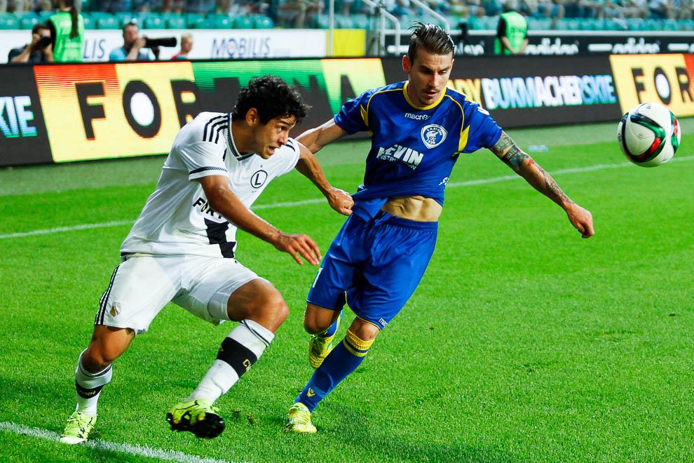 Legia Warszawa 1-0 FK Kukesi - fot. Piotr Galas/wiadomosci24.pl (zdjęcie 43 z 61)