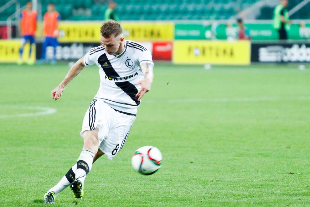 Legia Warszawa 1-0 FK Kukesi - fot. Piotr Galas/wiadomosci24.pl (zdjęcie 50 z 61)