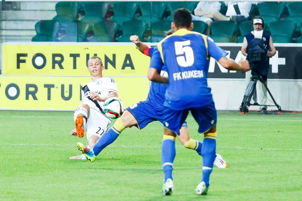 Legia Warszawa 1-0 FK Kukesi - fot. Piotr Galas/wiadomosci24.pl (zdjęcie 51 z 61)