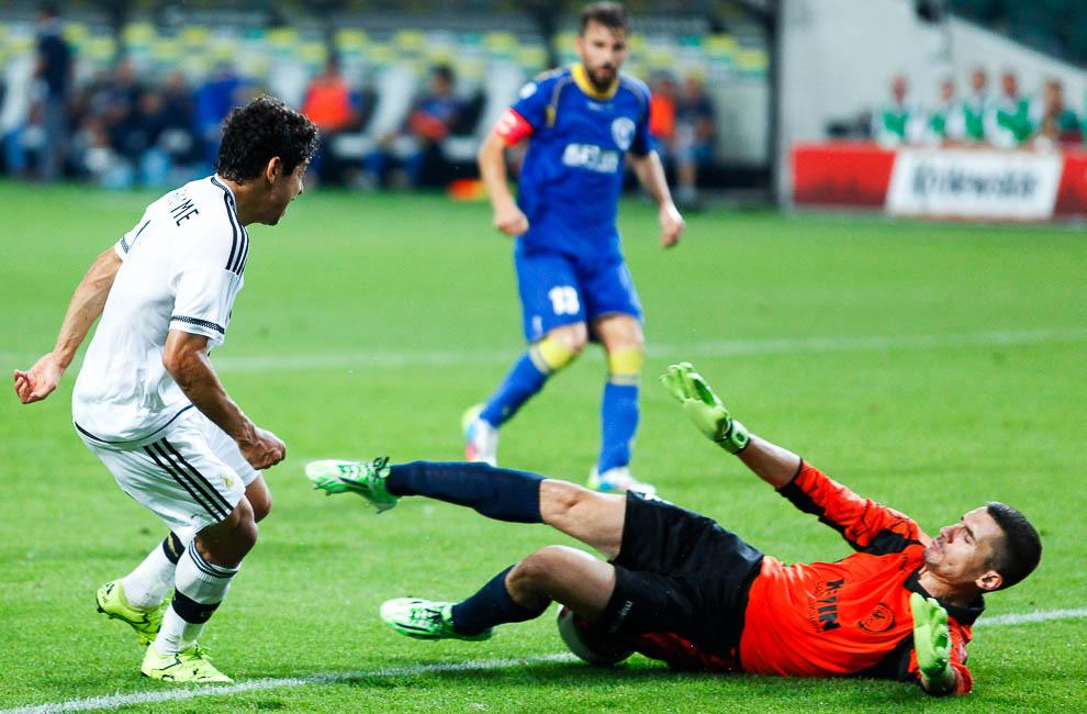 Legia Warszawa 1-0 FK Kukesi - fot. Piotr Galas/wiadomosci24.pl (zdjęcie 55 z 61)