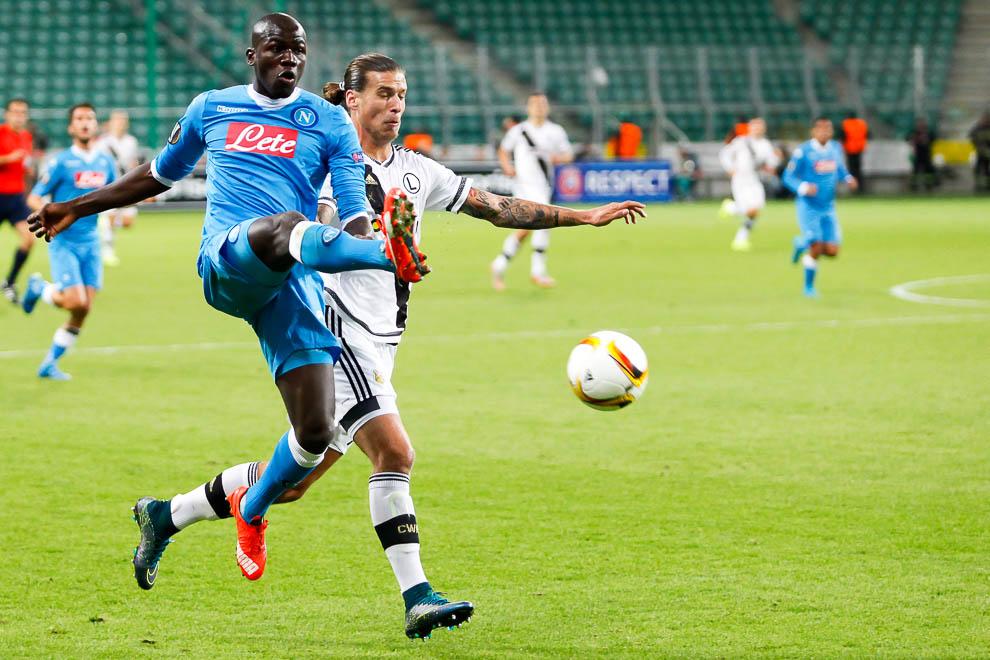 Legia Warszawa 0-2 SSC Napoli - fot. Piotr Galas/wiadomosci24.pl (zdjęcie 10 z 26)