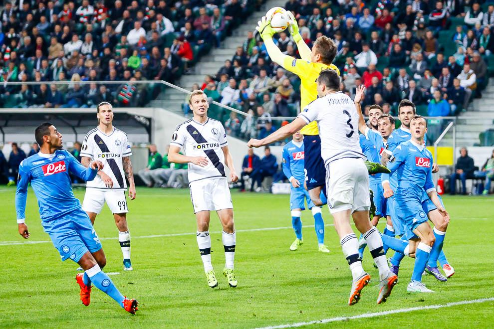 Legia Warszawa 0-2 SSC Napoli - fot. Piotr Galas/wiadomosci24.pl (zdjęcie 12 z 26)