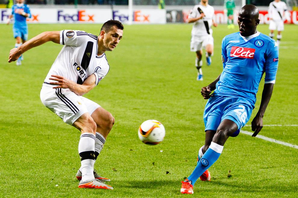 Legia Warszawa 0-2 SSC Napoli - fot. Piotr Galas/wiadomosci24.pl (zdjęcie 13 z 26)