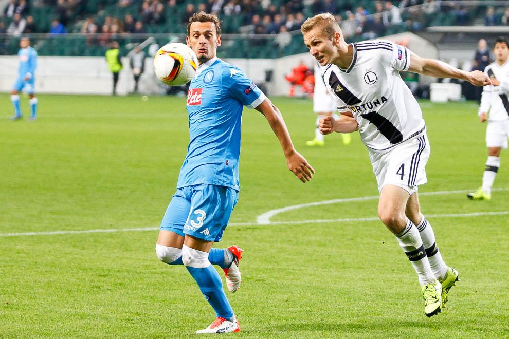 Legia Warszawa 0-2 SSC Napoli - fot. Piotr Galas/wiadomosci24.pl (zdjęcie 17 z 26)