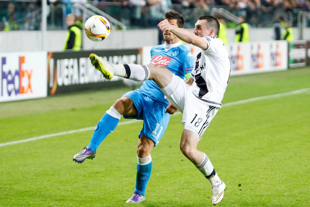 Legia Warszawa 0-2 SSC Napoli - fot. Piotr Galas/wiadomosci24.pl (zdjęcie 18 z 26)