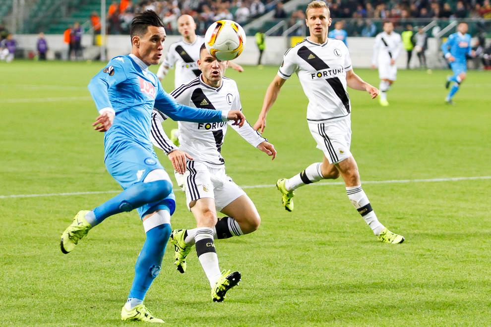 Legia Warszawa 0-2 SSC Napoli - fot. Piotr Galas/wiadomosci24.pl (zdjęcie 20 z 26)