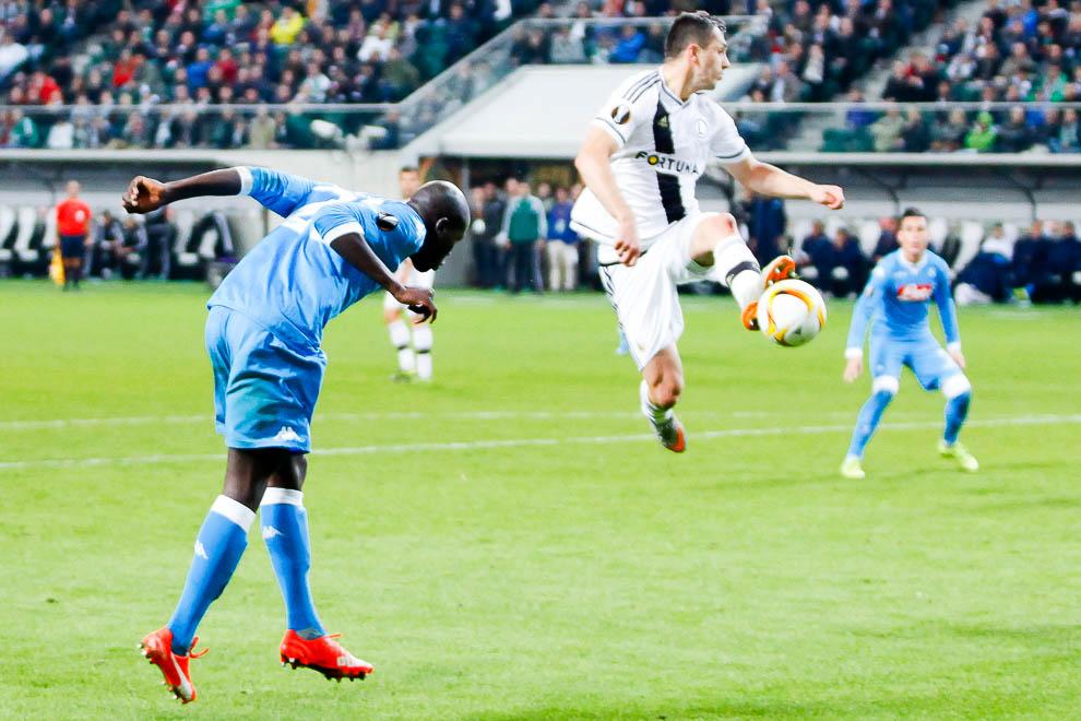 Legia Warszawa 0-2 SSC Napoli - fot. Piotr Galas/wiadomosci24.pl (zdjęcie 22 z 26)
