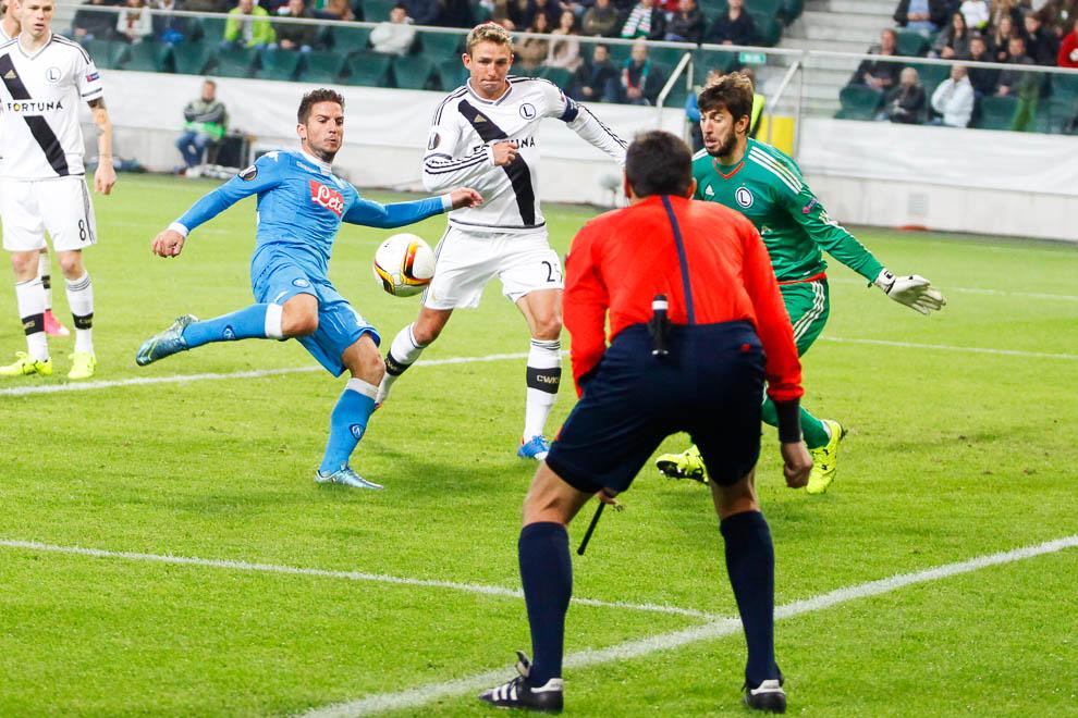 Legia Warszawa 0-2 SSC Napoli - fot. Piotr Galas/wiadomosci24.pl (zdjęcie 23 z 26)