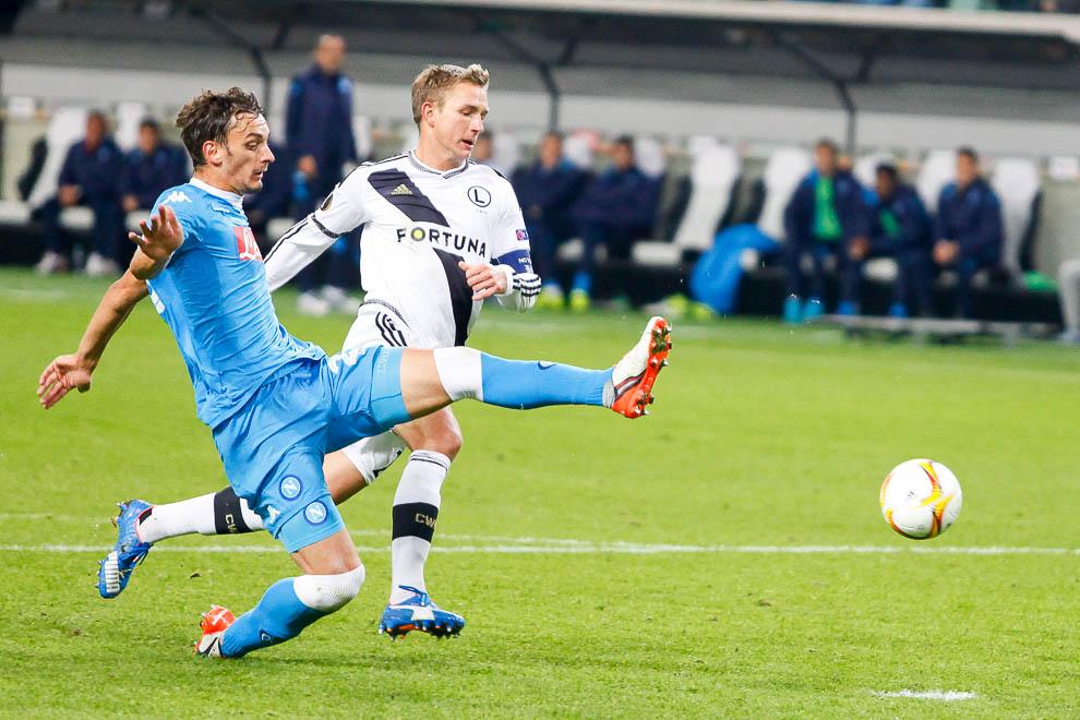 Legia Warszawa 0-2 SSC Napoli - fot. Piotr Galas/wiadomosci24.pl (zdjęcie 24 z 26)