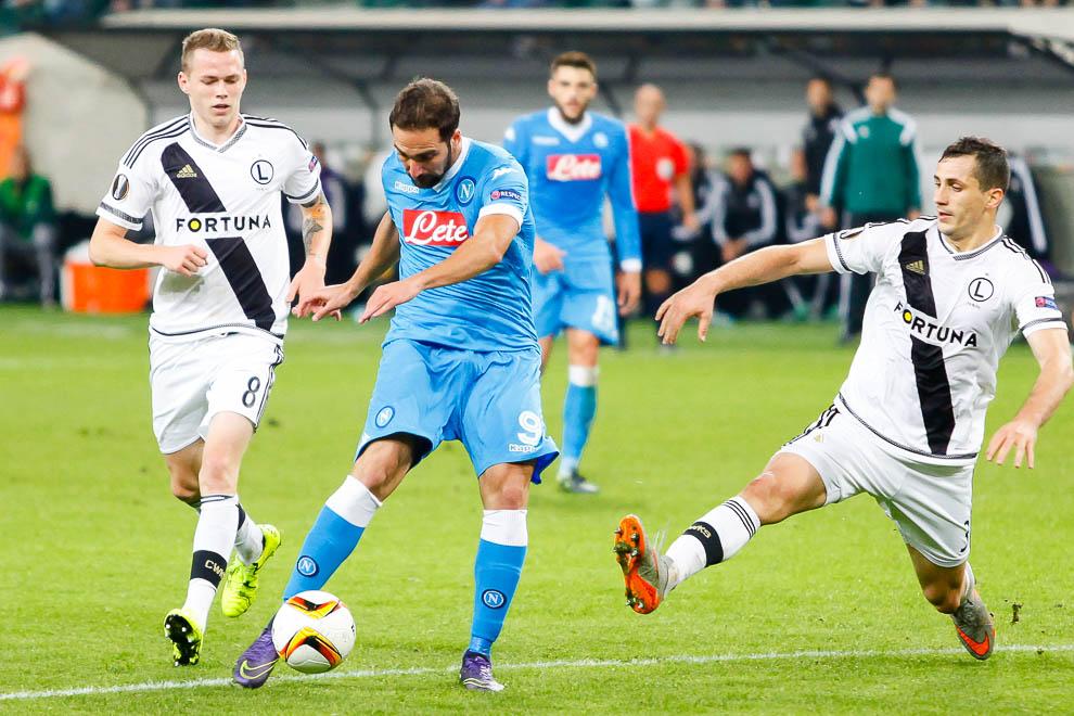 Legia Warszawa 0-2 SSC Napoli - fot. Piotr Galas/wiadomosci24.pl (zdjęcie 25 z 26)