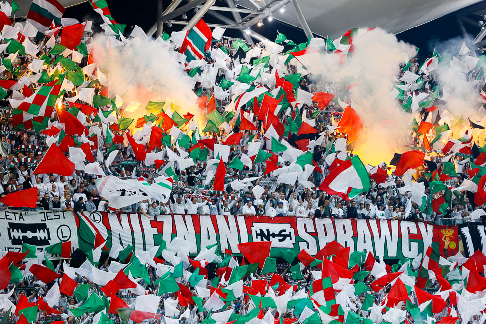 Legia Warszawa 0-2 SSC Napoli - fot. Piotr Galas/wiadomosci24.pl (zdjęcie 4 z 26)