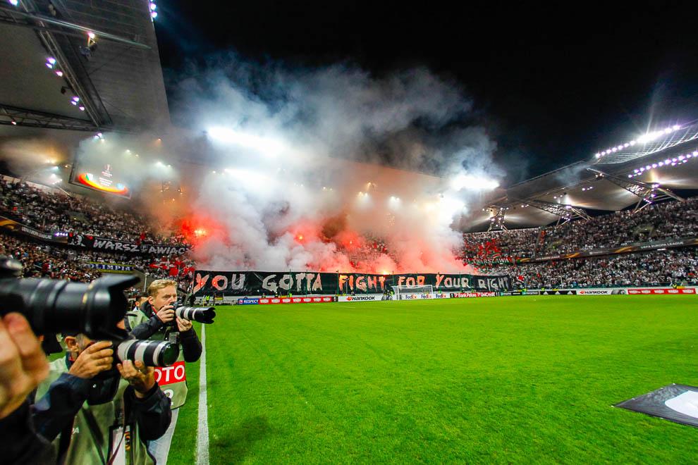 Legia Warszawa 0-2 SSC Napoli - fot. Piotr Galas/wiadomosci24.pl (zdjęcie 6 z 26)