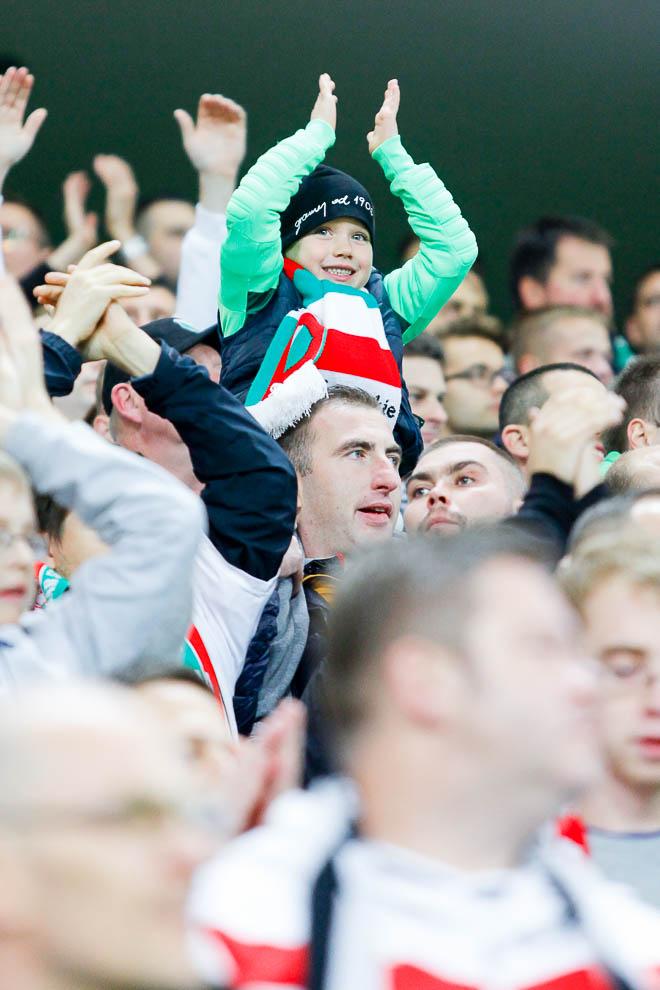 Legia Warszawa 0-2 SSC Napoli - fot. Piotr Galas/wiadomosci24.pl (zdjęcie 9 z 26)