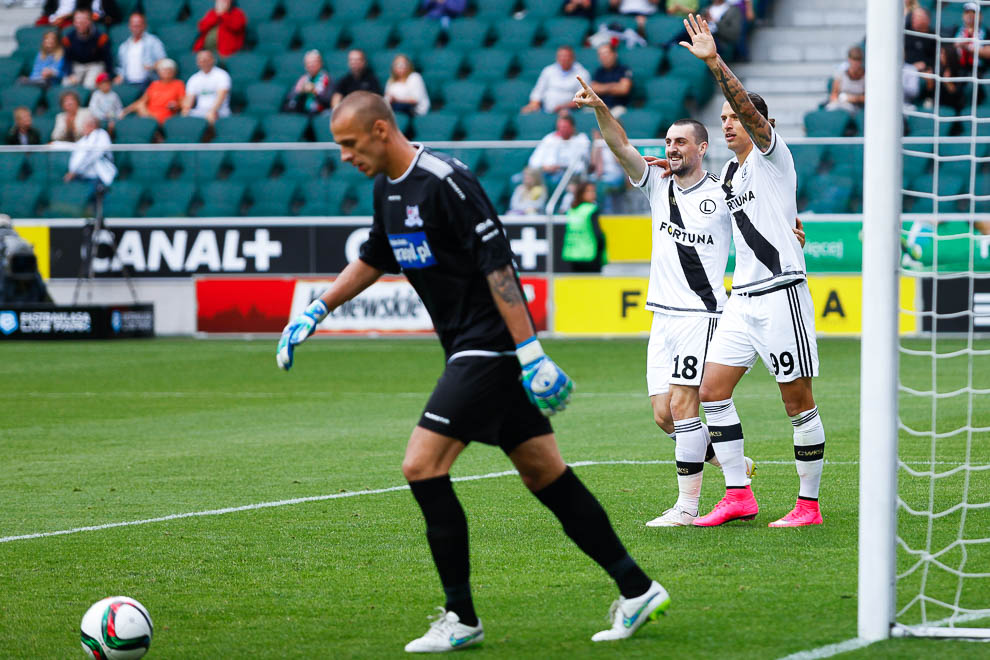 Legia Warszawa 5-0 Podbeskidzie Bielsko-Biała - fot. Piotr Galas/wiadomosci24.pl (zdjęcie 19 z 64)