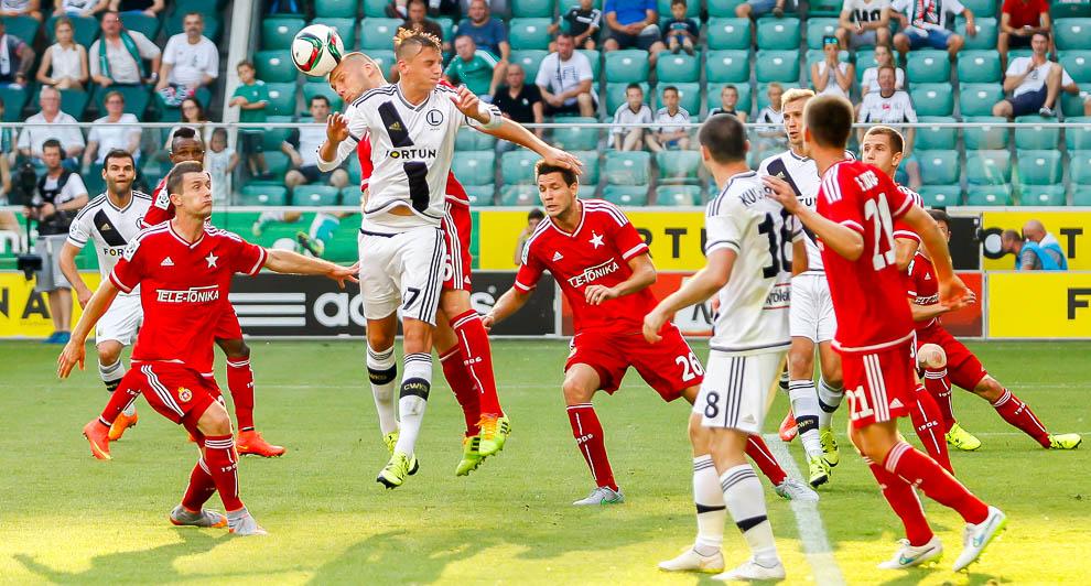 Legia Warszawa 1-1 Wisła Kraków - fot. Piotr Galas/wiadomosci24.pl (zdjęcie 33 z 76)