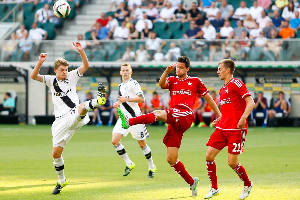 Legia Warszawa 1-1 Wisła Kraków - fot. Piotr Galas/wiadomosci24.pl (zdjęcie 34 z 76)