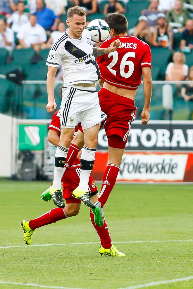 Legia Warszawa 1-1 Wisła Kraków - fot. Piotr Galas/wiadomosci24.pl (zdjęcie 47 z 76)