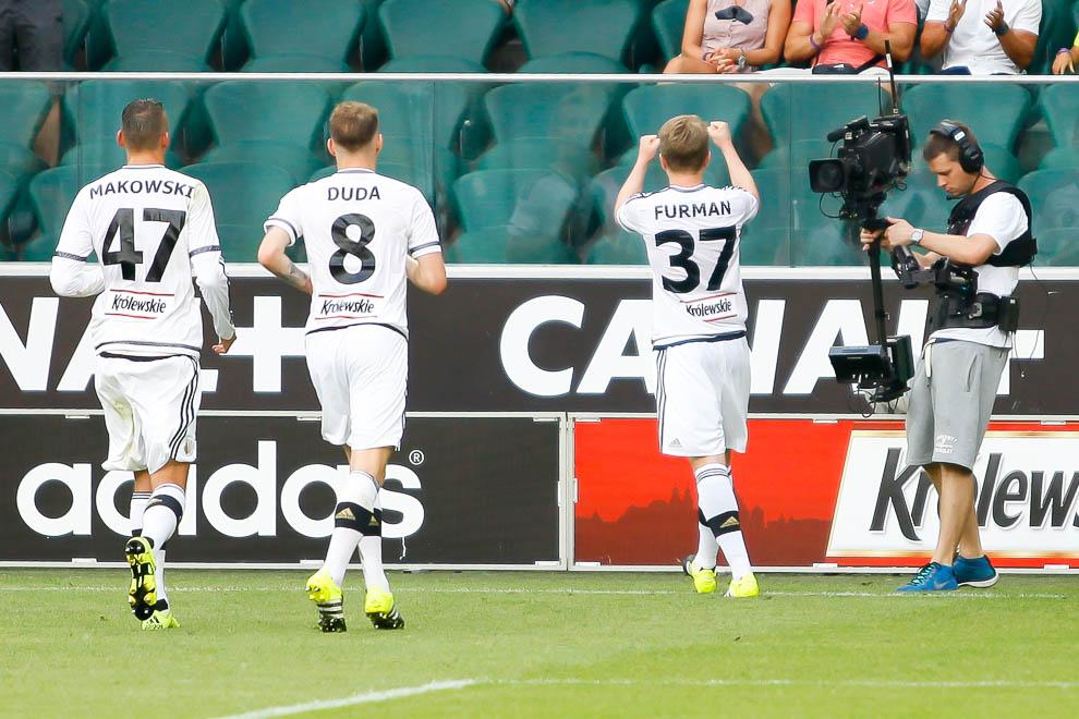 Legia Warszawa 1-1 Wisła Kraków - fot. Piotr Galas/wiadomosci24.pl (zdjęcie 50 z 76)